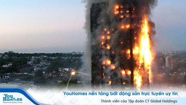 Cháy chung cư - Hiểm họa tiềm tàng mỗi ngày