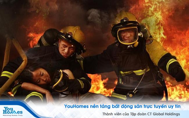 Cách thoát hiểm khi xảy ra cháy tại chung cư tầng cao