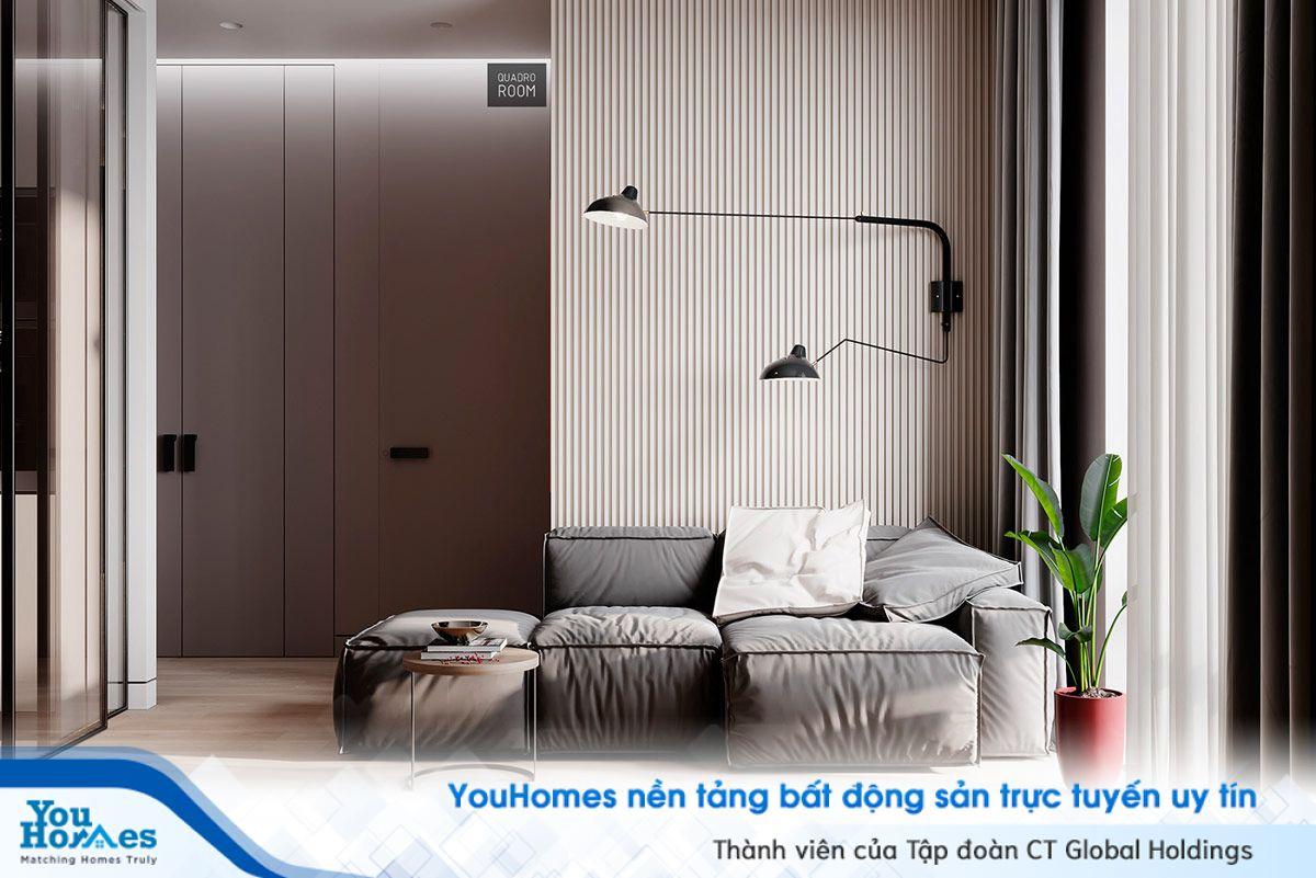 Ấn tượng thiết kế lạ mắt của căn hộ hiện đại
