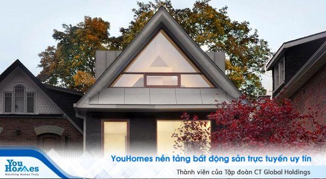 Gợi ý thiết kế nhà với tầng áp mái tuyệt đẹp