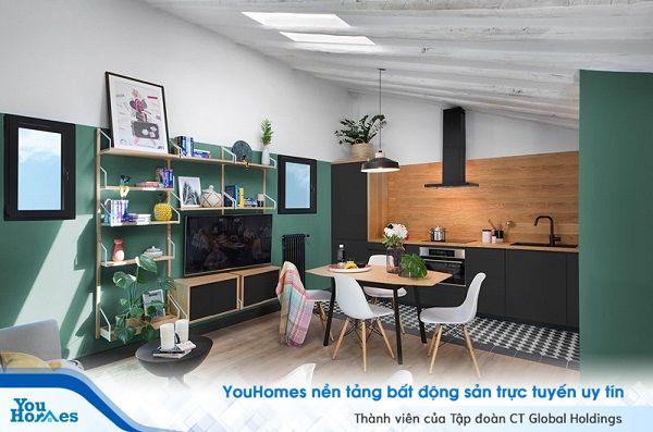 Xanh lá & đen - Điểm nhấn hoàn hảo cho căn nhà của bạn