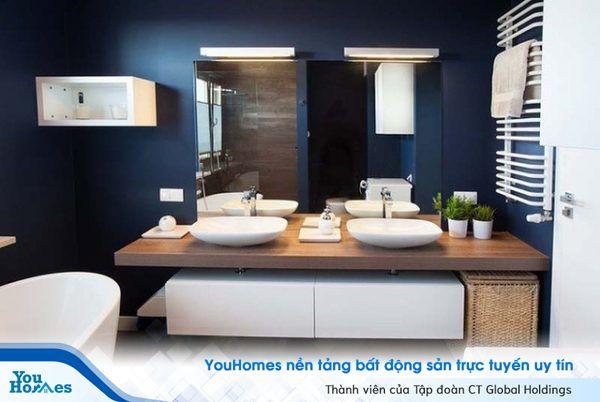 Phong thủy phòng tắm cho căn hộ hiện đại