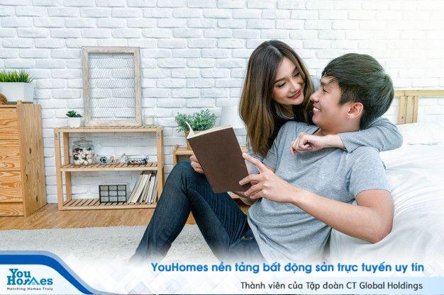 Màu sơn phong thủy cho phòng ngủ giúp tình cảm vợ chồng luôn bền chặt