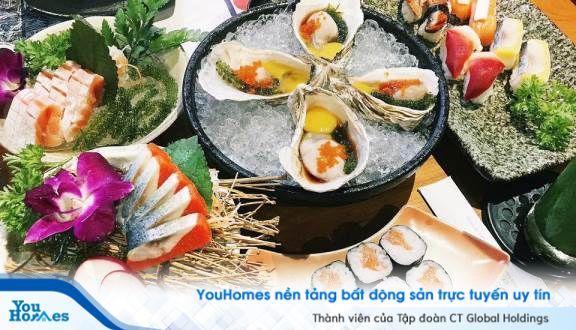 Top 5 nhà hàng Nhật Bản ngon nhất gần Golden Masion