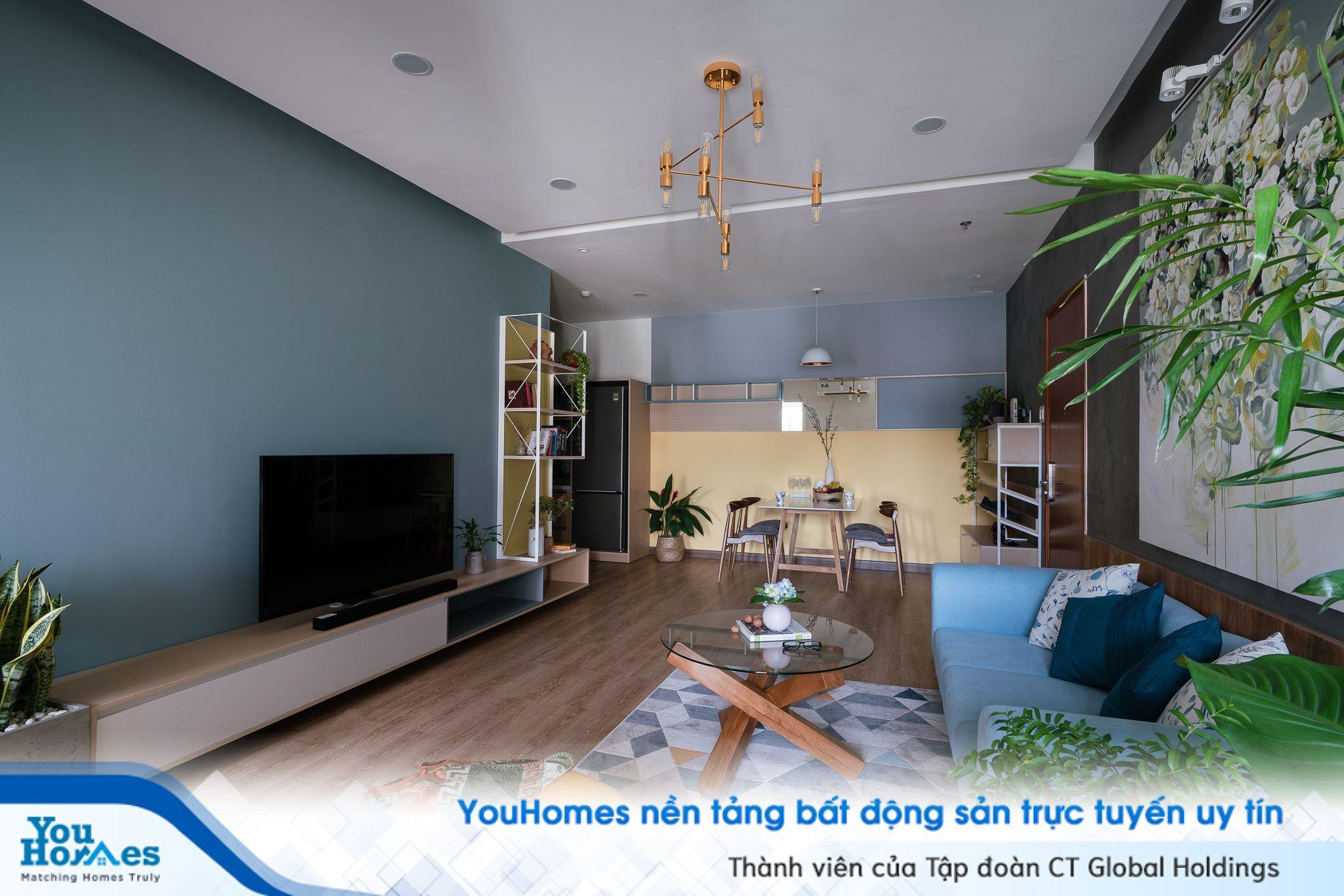 Nội thất căn hộ mang thiết kế tự nhiên thân thiện
