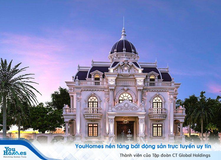Tổng hợp những mẫu biệt thự Pháp đẹp nhất tại Việt Nam