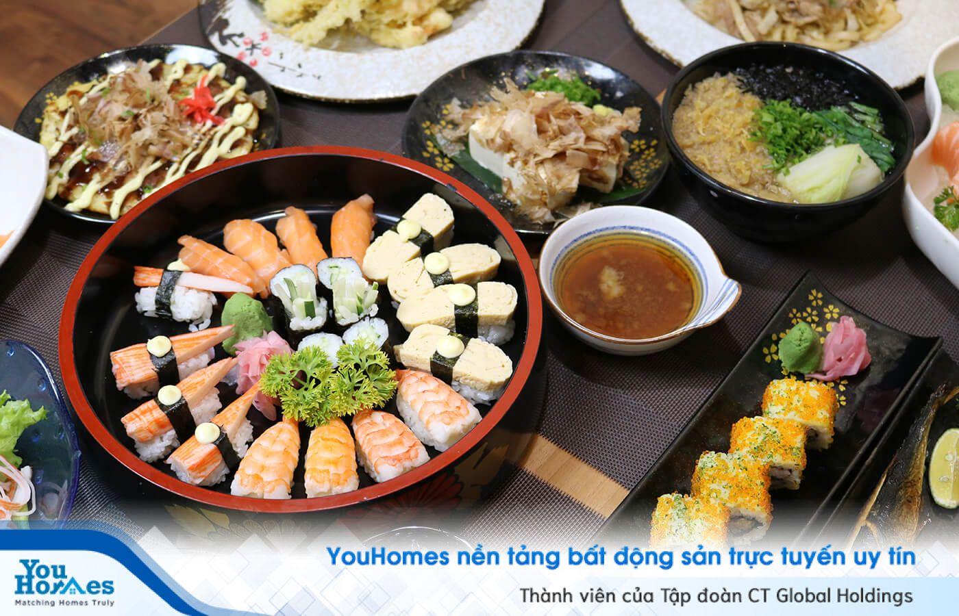 Gợi ý cho bạn 3 nhà hàng Nhật Bản ngon gần Vinhomes Center Park
