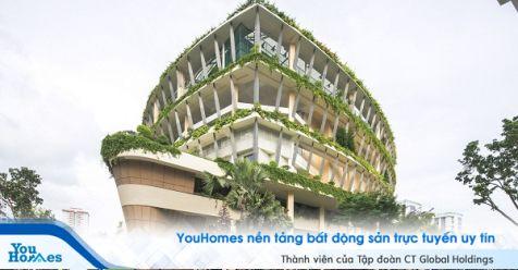 Tòa nhà sở hữu dáng hình nhìn cái đã muốn yêu ngay