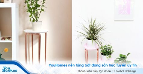 Sáng tạo không gian nội thất với các đoạn ống đồng