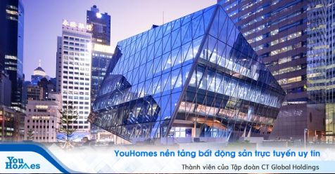 Khối lập phương siêu khổng lồ tại Hồng Kông