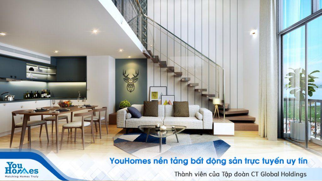 """Kết quả hình ảnh cho Phòng khách thông tầng penthouse, duplex, pentstudio"""""""
