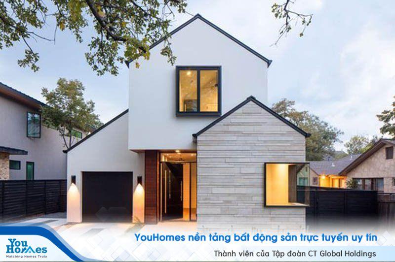"""Nhà kiểu Nhật với thiết kế đắt giá như """"3 căn nhà khác nhau""""."""