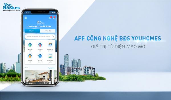 Ngày 20/10/2020 tới đây, app công nghệ bất động sản YouHomes sẽ được thay đổi diện mạo hoàn toàn mới.