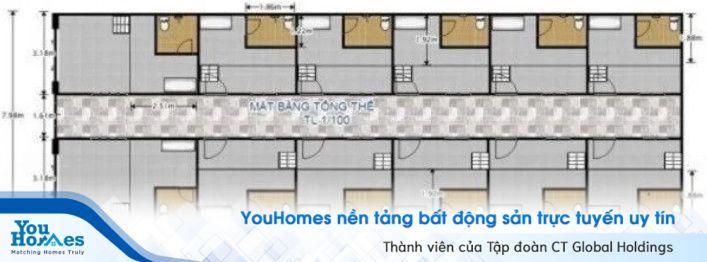 Xây nhà trọ cấp 4 có gác lửng giá rẻ, tối ưu diện tích