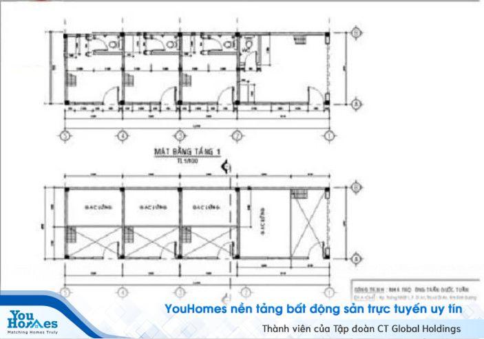 Xây nhà trọ cấp 4 2 tầng giá rẻ, tối ưu diện tích