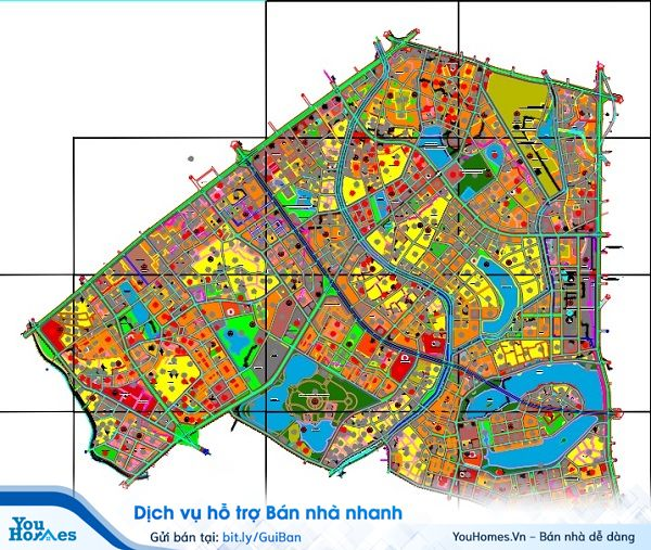Quy hoạch phân khu tỷ lệ 1/2.000 thuộc các quận Thanh Xuân, Hoàng Mai, Hà Đông và huyện Thanh Trì, thành phố Hà Nội.
