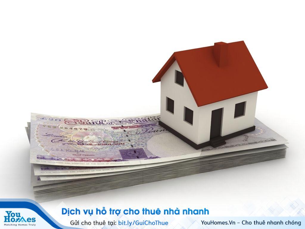 Tiền đặt cọc khi ký kết hợp đồng thuê nhà.