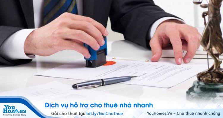 Công chứng, chứng thực hợp đồng thuê nhà.