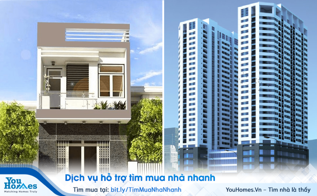 Kinh nghiệm mua nhà lần đầu: Nên mua chung cư hay nhà đất