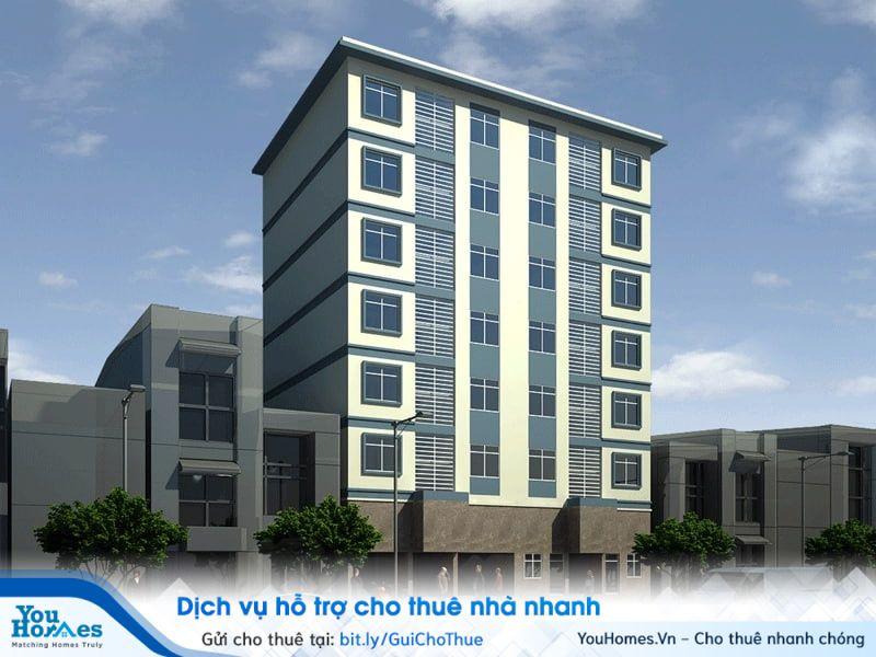 Chung cư mini có từ 2 tầng trở lên, mỗi tầng có ít nhất 2 căn hộ.