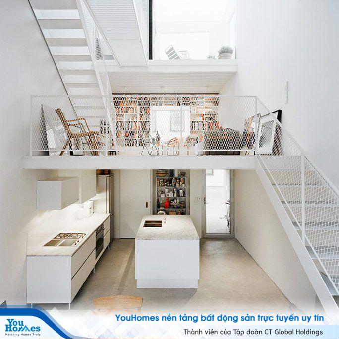 Ứng dụng nguyên liệu sắt giúp ngôi nhà trở nên hiện đại.