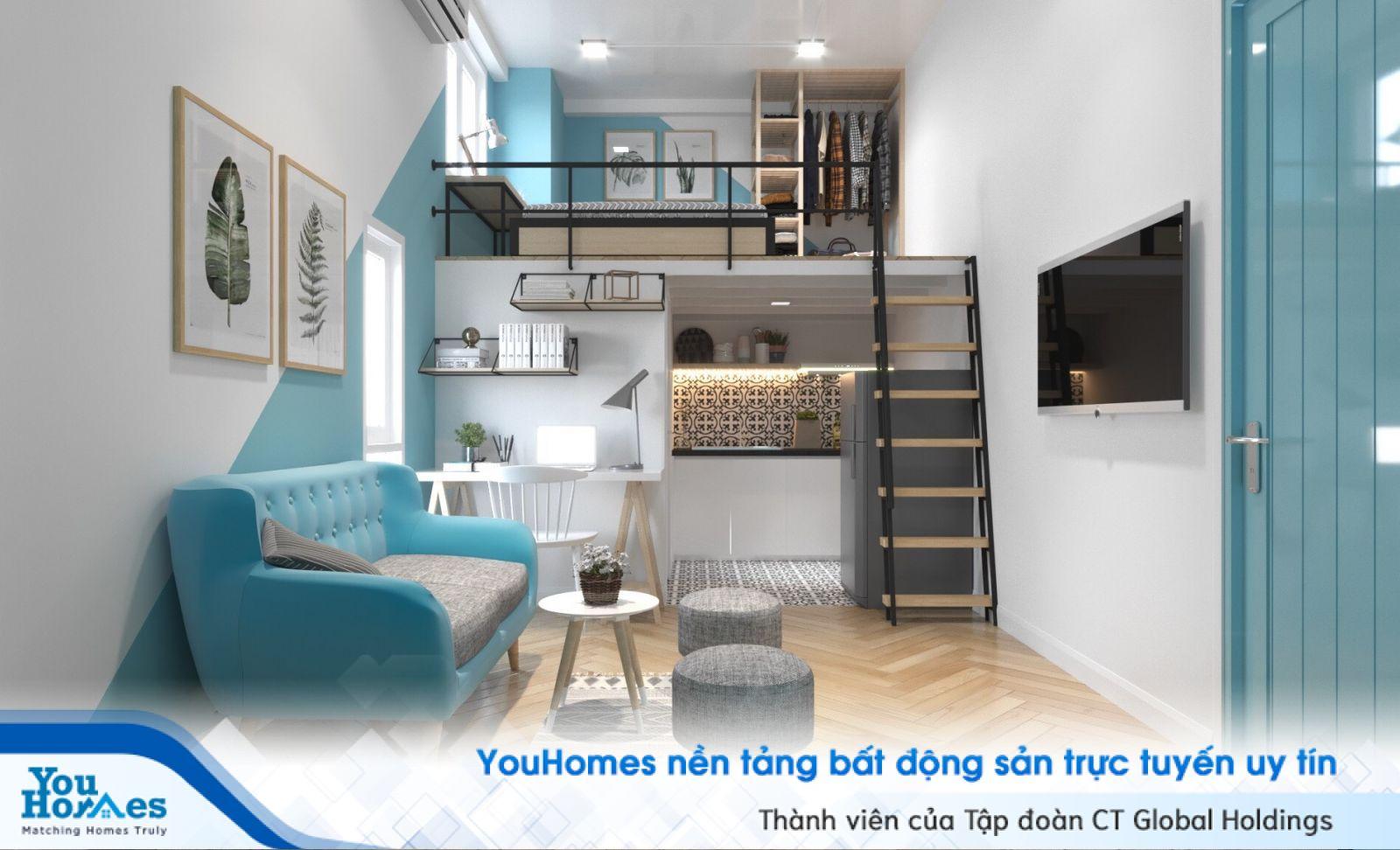 Phong cách thiết kế hiện đại rất phù hợp với những căn nhà nhỏ hẹp.