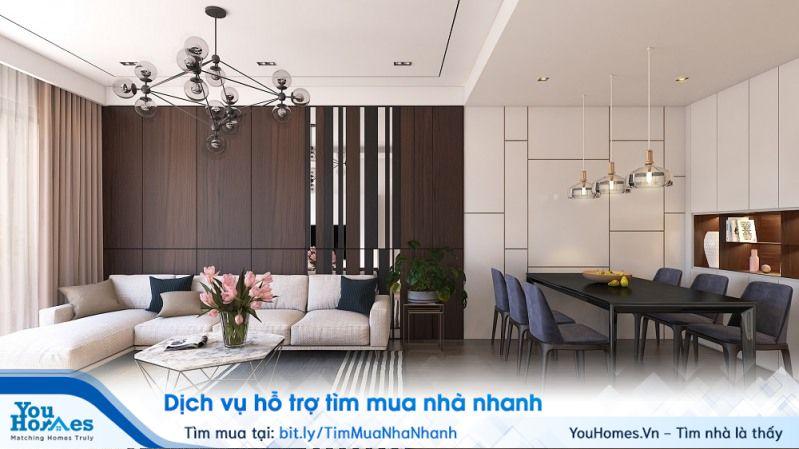 Thiết kế căn hộ 3 phòng ngủ tại dự án Imperia Smart City