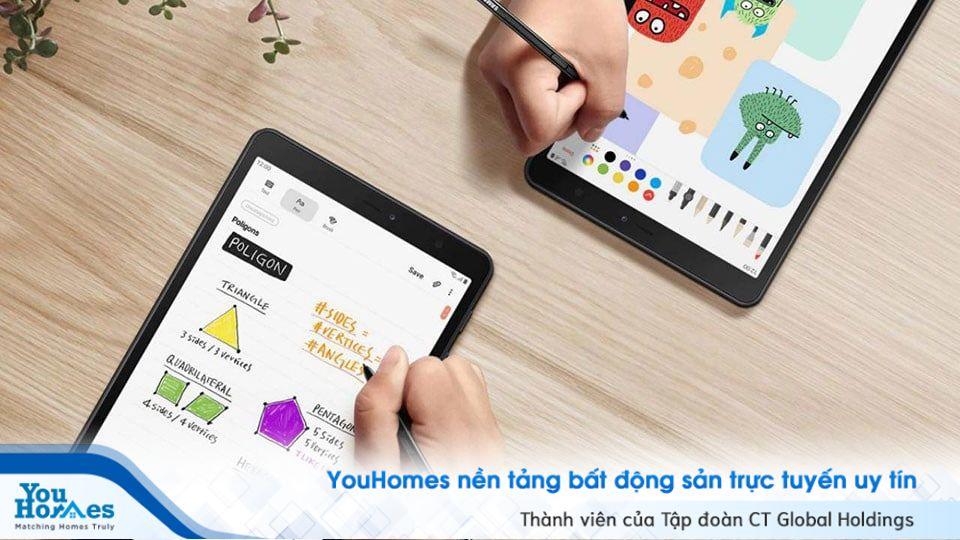 Bạn có thể dùng S Pen để kéo thả nhiều tập tin, hình ảnh và dễ dàng thay đổi thời khóa biểu trong máy