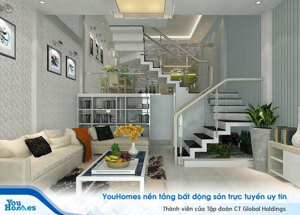 Bên trong ngôi nhà 2 tầng diện tích 60 m2, nếu bạn có sẵn đồ nội thất từ nhà cũ hãy tiết tục tận dụng để bớt được khoản tiền đầu tư nội thất mới cho ngôi nhà.