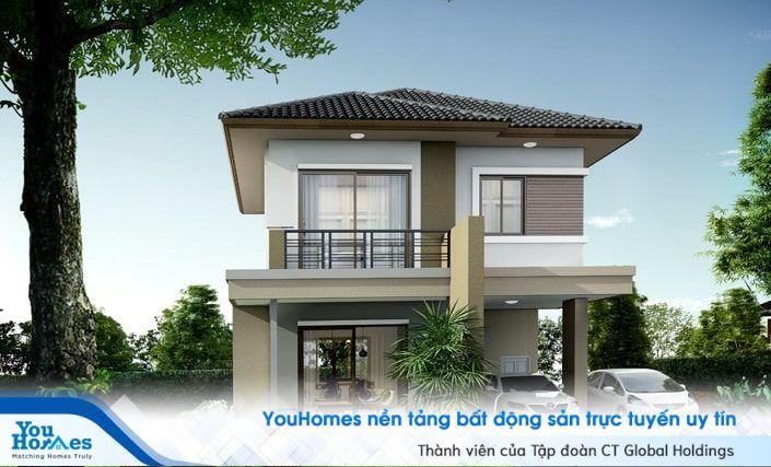 Tùy vào loại vật tư mà đơn giá nhà 2 tầng diện tích 60 m2 lại dao động khác nhau.