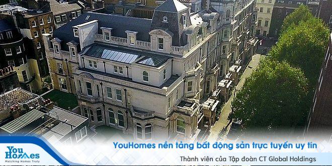 Ngôi biệt thự nằm tại phố Mayfair - khu vực bất động sản đắt đỏ bậc nhất nước Anh.