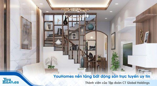 Vách ngăn cầu thang như một vật dụng trang trí hữu ích cho ngôi nhà