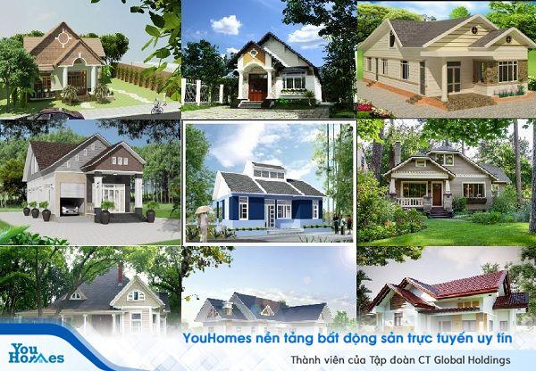 Thiết kế gác lửng giúp ngôi nhà vườn tối ưu diện tích sử dụng.