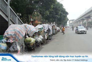 Dân chặn xe vào bãi rác Nam Sơn: Chung cư Hà Nội ngừng gom rác