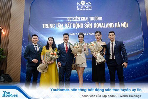 Hà Nội: Khai trương trung tâm bất động sản Novaland
