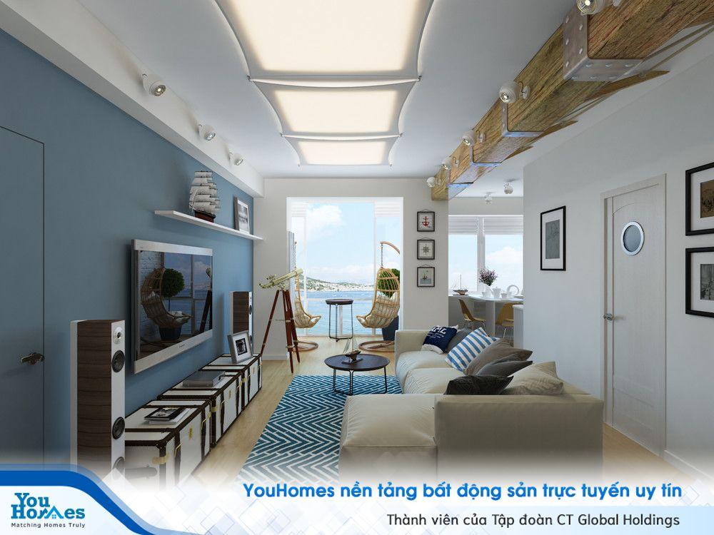 Mê mẩn ngôi nhà lấy cảm hứng từ biển cả