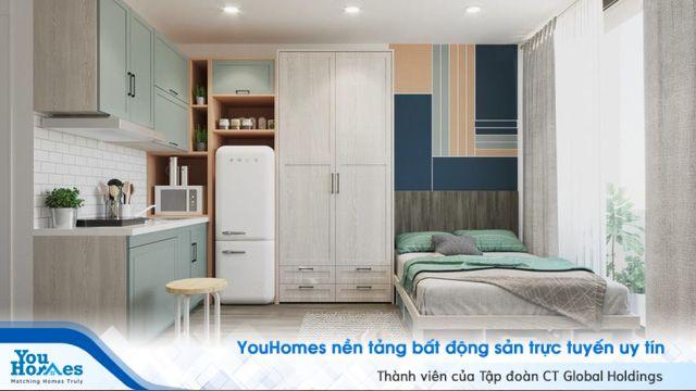 Mẫu căn hộ mini hiện đại