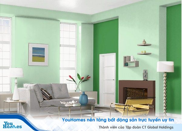 Màu sơn phong thủy lý tưởng cho căn hộ chung cư của bạn