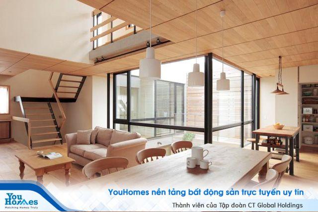 Gợi ý tận dụng ánh sáng tự nhiên cho ngôi nhà trong hẻm