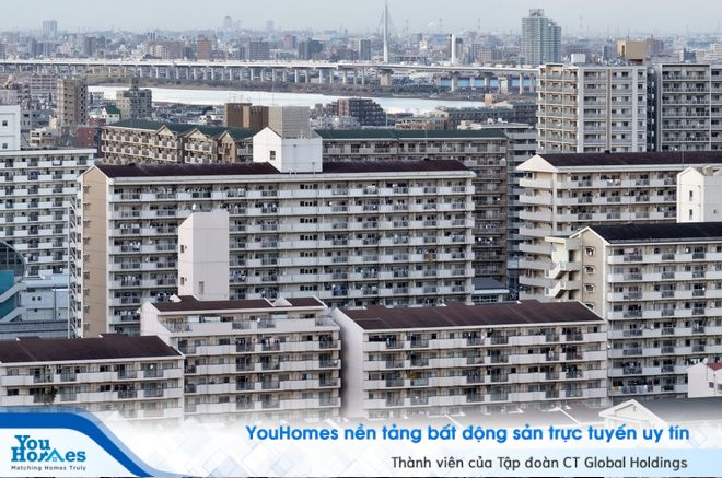 Nhật Bản: Người giàu sống ở chung cư, người nghèo sống ở nhà riêng