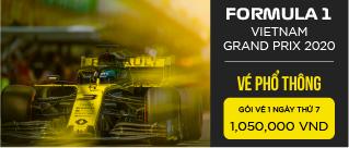 Vé sự kiện Formula 1 Việt Nam Grand Prix 2020 - Vé phổ thông thứ 7