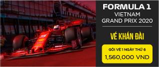 Vé sự kiện Formula 1 Việt Nam Grand Prix 2020 - Vé khán đài thứ 6