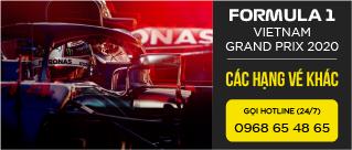 Vé sự kiện Formula 1 Việt Nam Grand Prix 2020 - Hạng vé khác