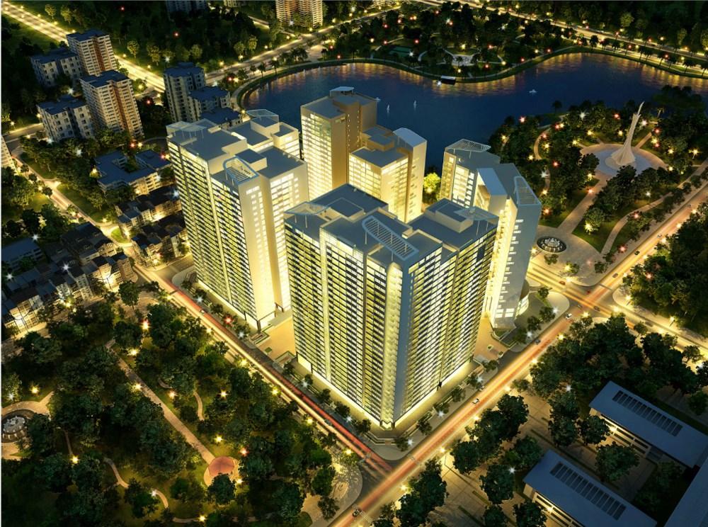 Chung cư Mandarin Garden - Khu đô thị Đông Nam Trần Duy Hưng
